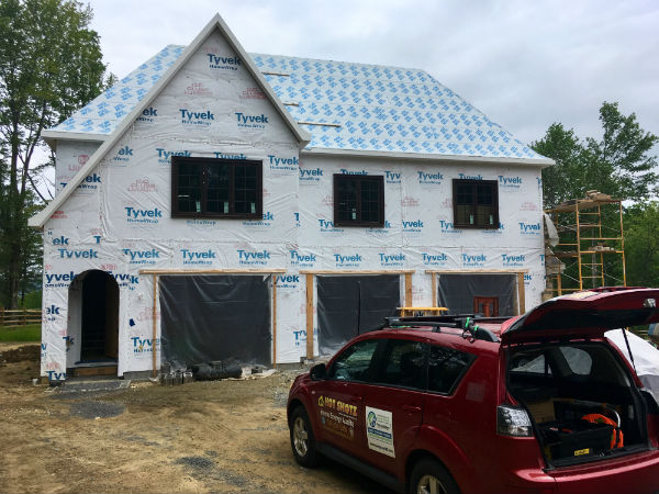 new construction IECC Code Compliance Test Maryland